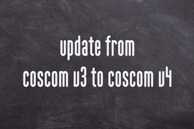update coscom v3 v4