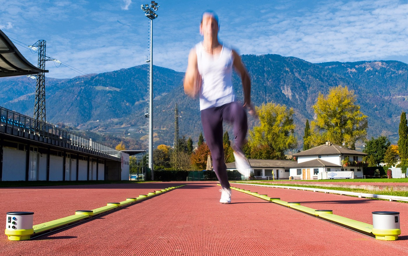 Optojump for performance testing in the field