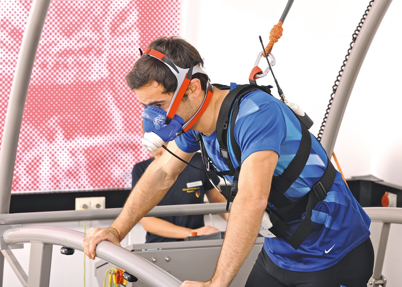 h/p/cosmos oversize treadmill for performance diagnostics