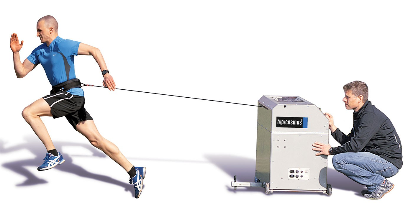 h/p/cosmos sprint trainer comet for speed training & sprint training