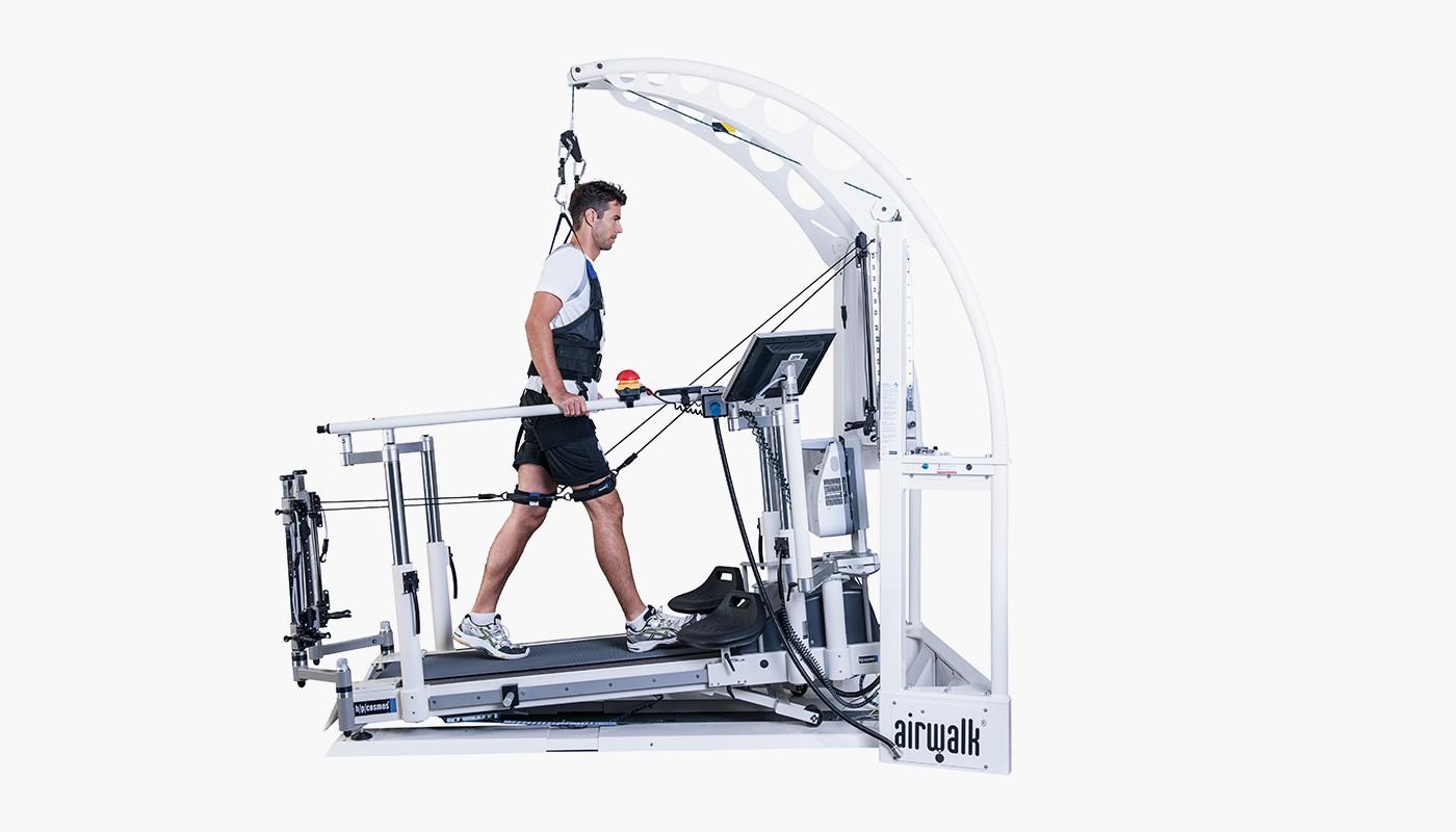 h/p/cosmos un-weighting system airwalk ap for training, diagnostic & Rehabilitation
