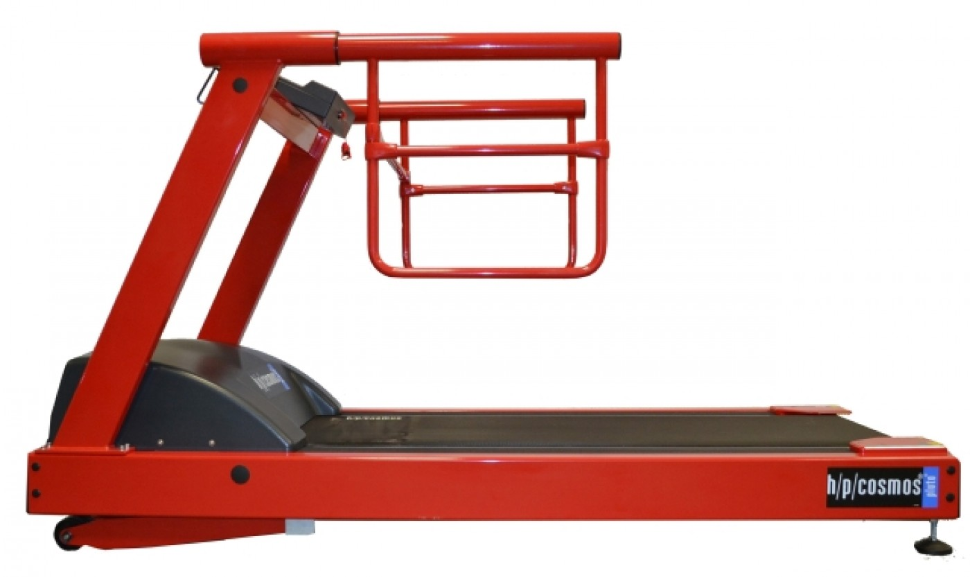 treadmill pluto® med with Paediatric handrails