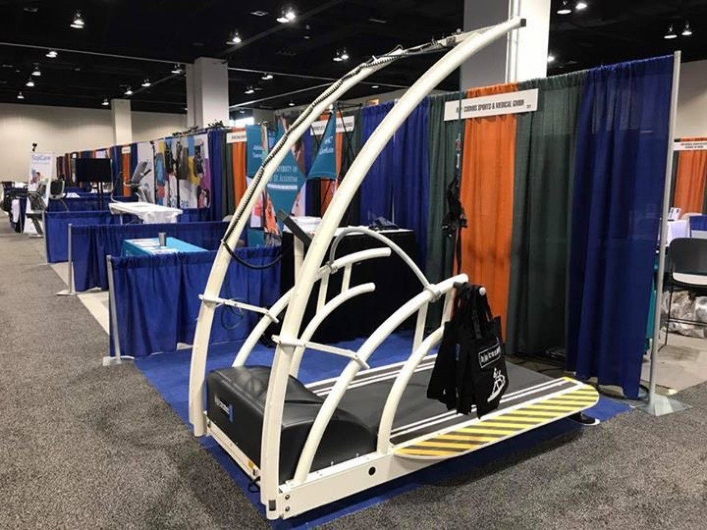 treadmill for gait analysis & biomechanics / Laufband für Ganganalyse und Biomechanik