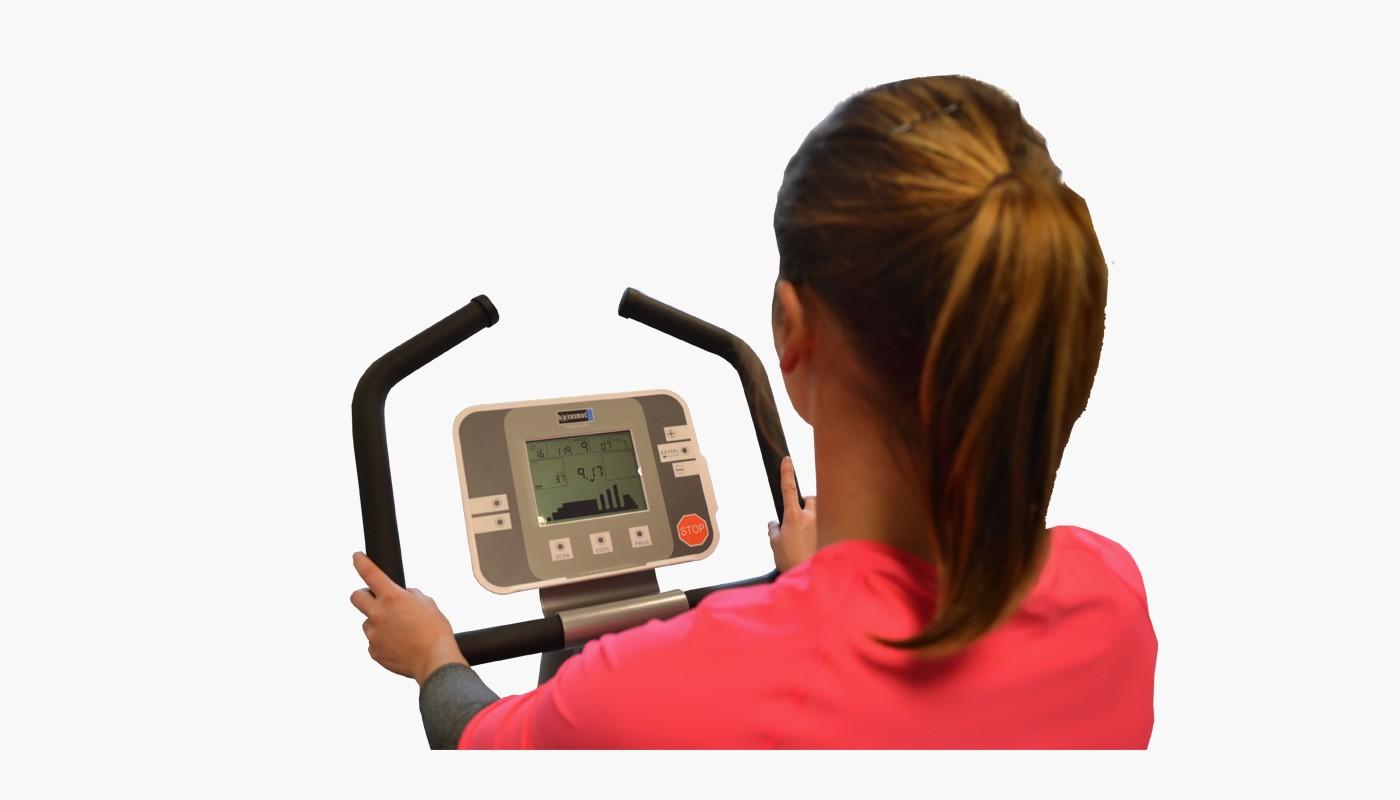 Fahrradergometer torqualizer® 600ef med