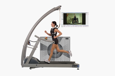 h/p/cosmos treadmill for motion analysis, gait analysis