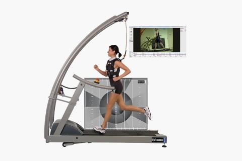 h/p/cosmos treadmill for motion analysis, gait analysis