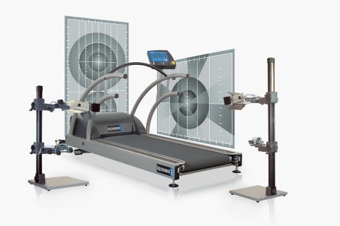 h/p/cosmos treadmill quasar for motion analysis, gait analysis, biomechanical analysis