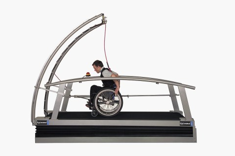 treadmill for wheelchairs h/p/cosmos saturn
