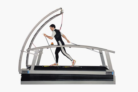 h/p/cosmos oversize treadmill for cross country skiing & cycling