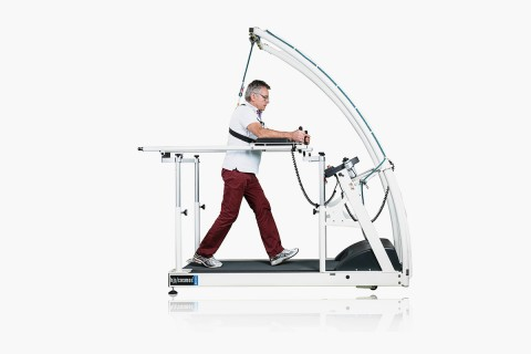 h/p/cosmos treadmill mercury med with adjustable handrails