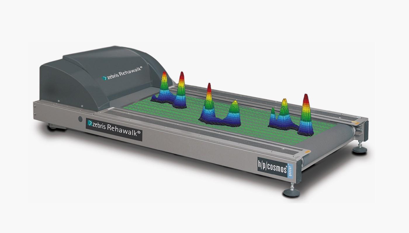zebris® FDM Messplatte 2i Lauffläche 150/50, ohne Laufband