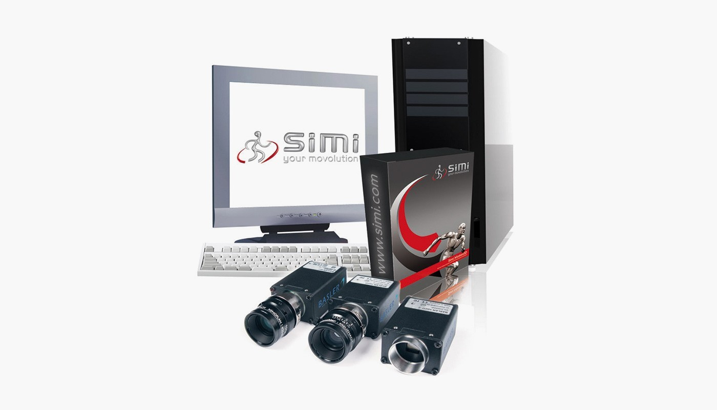 SIMI Aktisys para motion 2D Komplettsystem