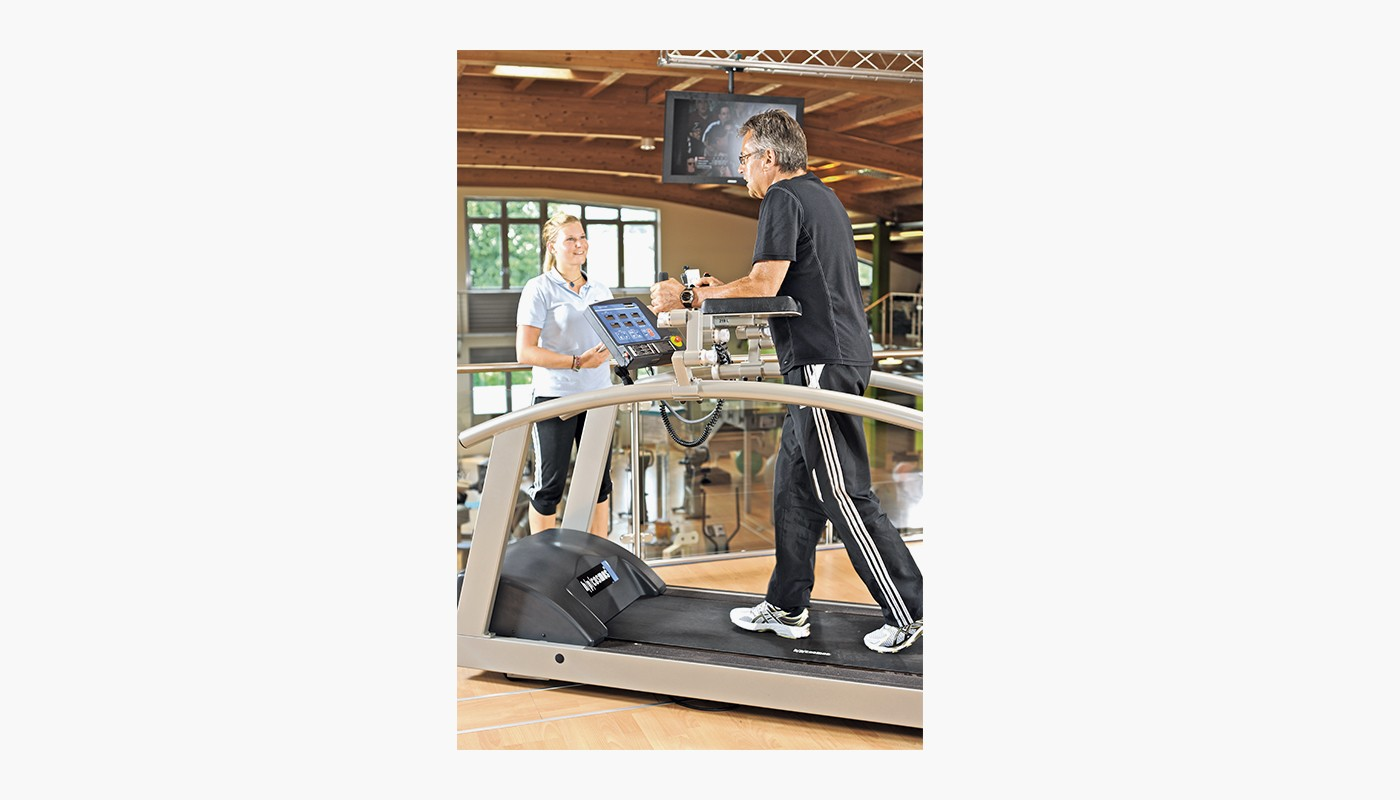 h/p/cosmos treadmill mercury med for Rehabilitation, gait training & physiotherapy