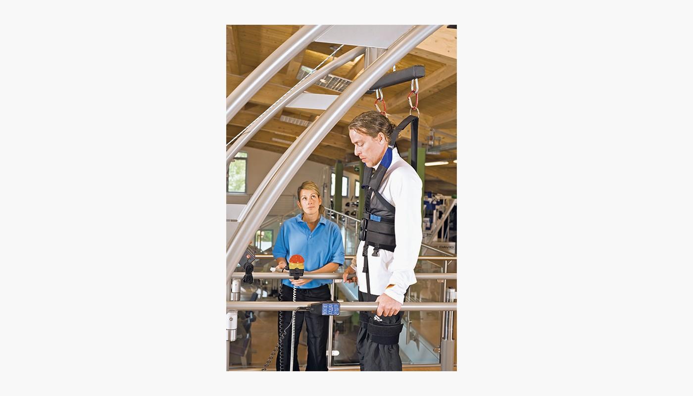 h/p/cosmos treadmill locomotion for gait therapy, gait training & locomotion therapy