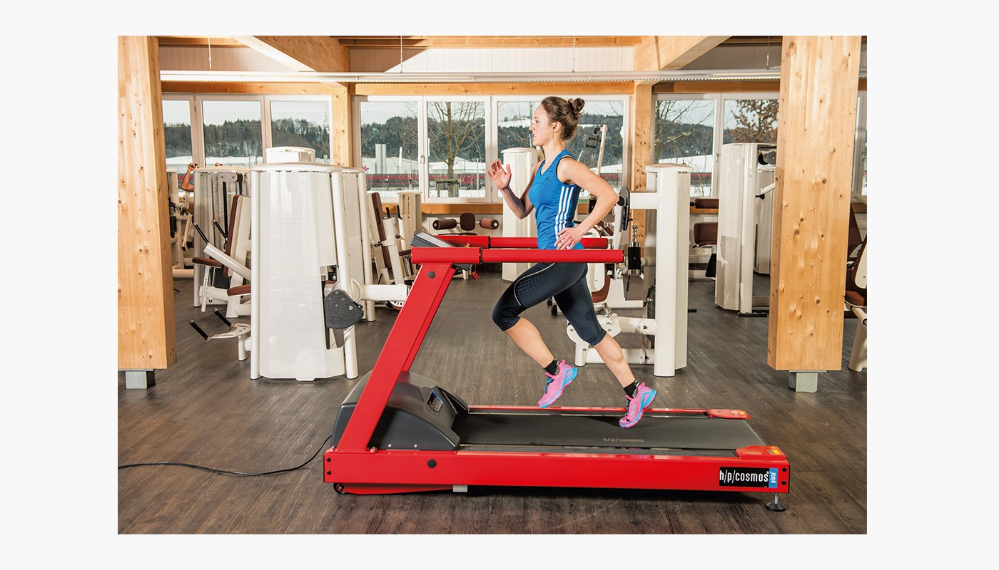 h/p/cosmos Laufband pluto für Fitness & Sport - individuelle Rahmenfarbe