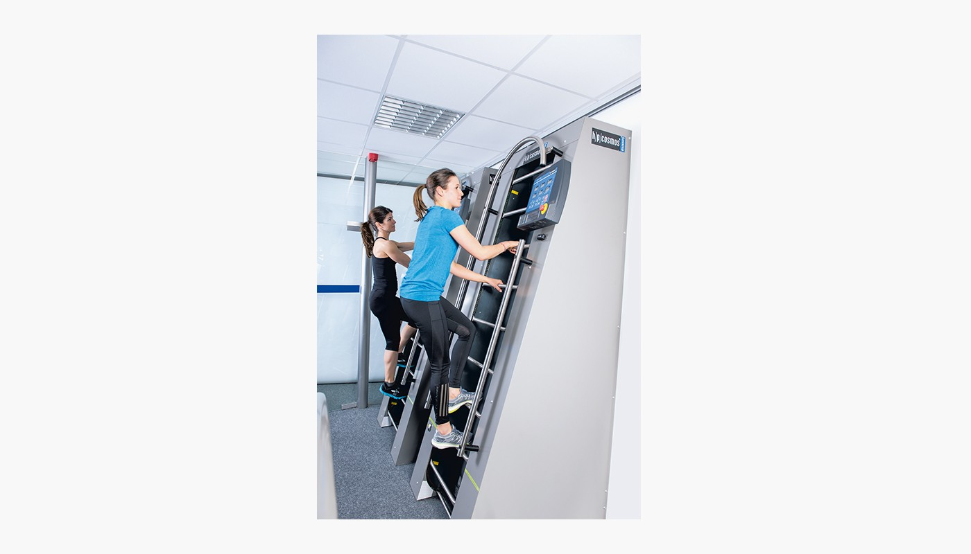 h/p/cosmos ladder ergometer discovery