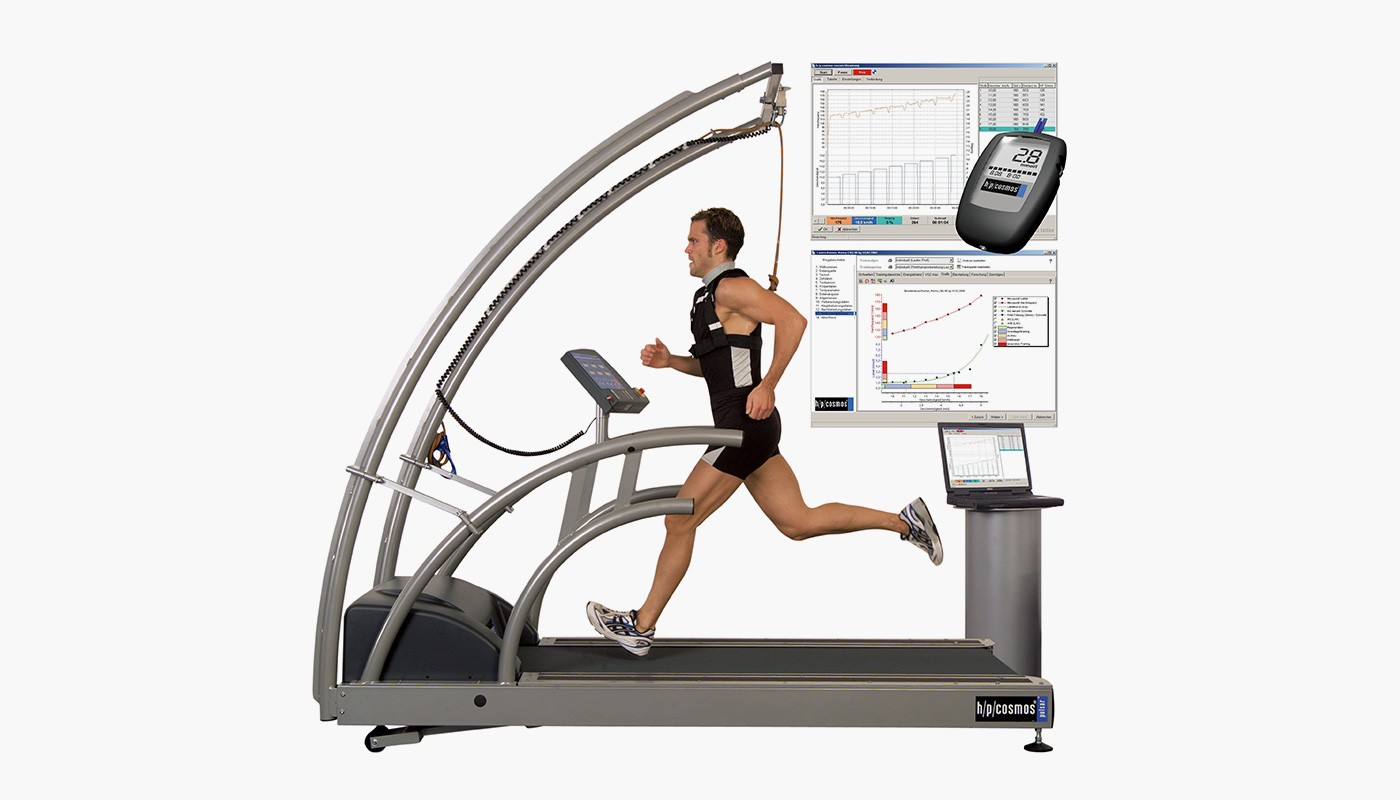 h/p/cosmos treadmill for performance diagnostics