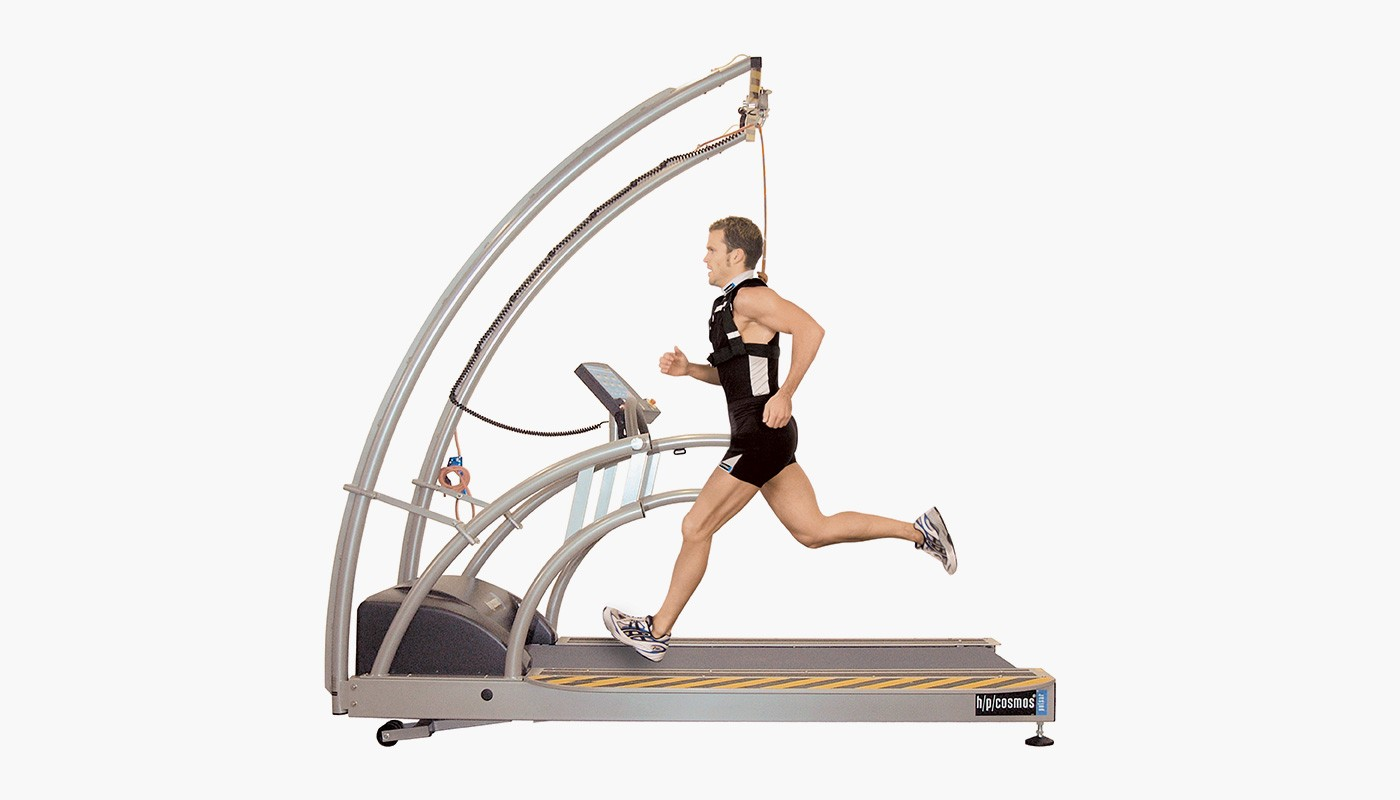 h/p/cosmos treadmill for speed training