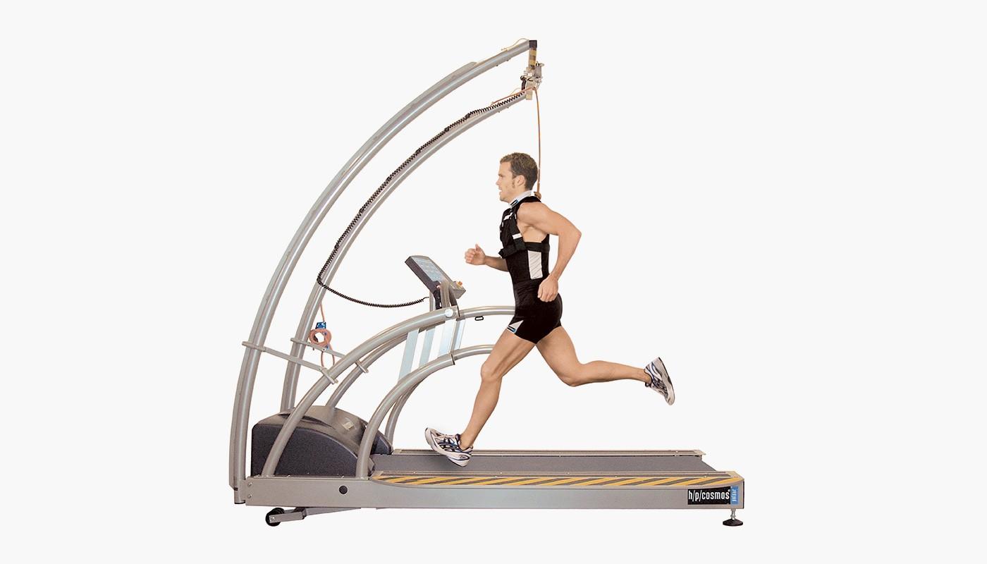 h/p/cosmos treadmill for speed training