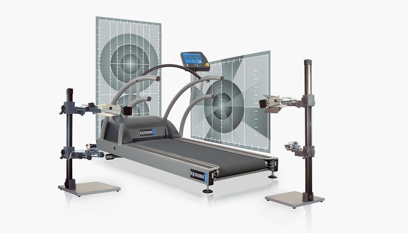 h/p/cosmos treadmill quasar for motion analysis, gait analysis, biomechanical analysis