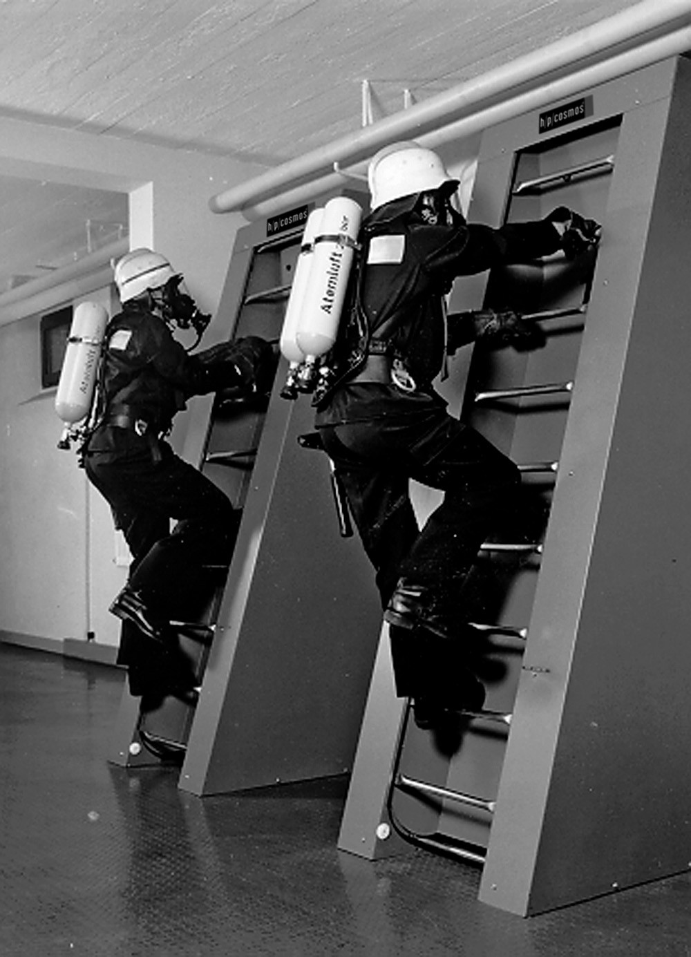 h/p/cosmos ladder ergometer discovery - fire fighters