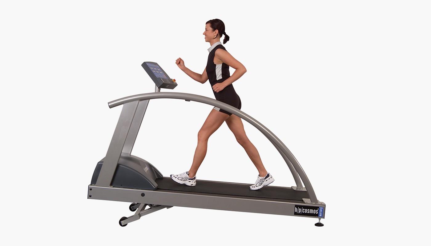 h/p/cosmos treadmill mercury for UKK Walk test