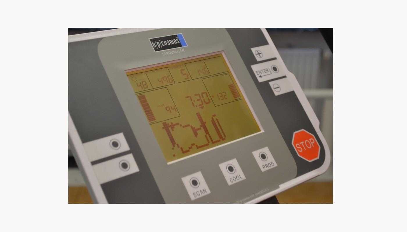 Rad-Ergometer torqualizer ef med 600 Display