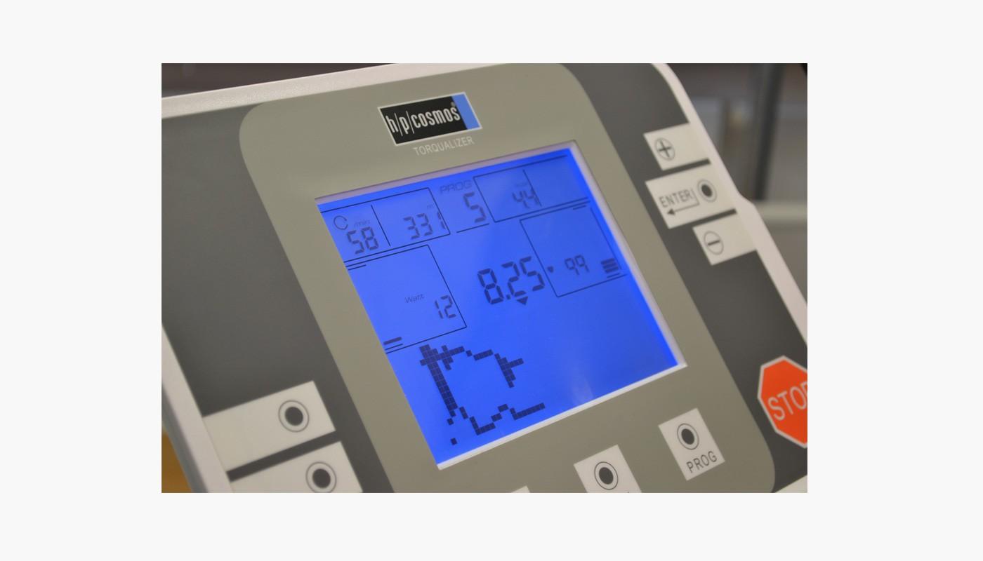 Biofeedback - h/p/cosmos Fahrradergometer torqualizer